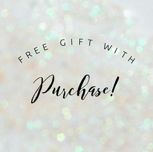 ❤❤❤❤❤FREE GIFT WITH PURCHASE❤❤❤❤❤